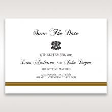 Royal Elegance save the date wedding stationery card item