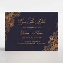 Royal Embrace save the date card
