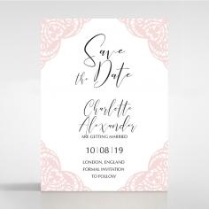 Rustic Elegance save the date invitation stationery card item
