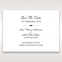 Stylish Laser cut Peacock Feather save the date invitation card design