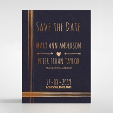 Swept Away wedding save the date stationery card item