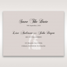 Wedded Bliss save the date stationery card item