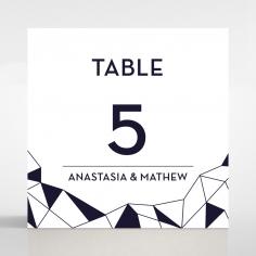Digital Love table number card stationery item