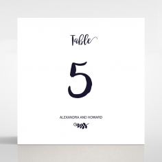 Rustic Lustre wedding stationery table number card item