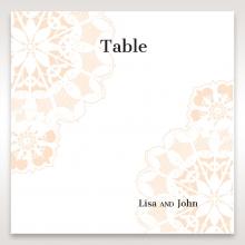 Antique Frame wedding venue table number card stationery