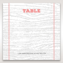 Eternity table number card