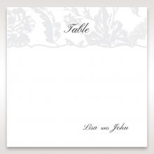 Exquisite Floral Pocket wedding table number card stationery design
