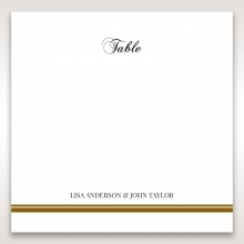 Royal Elegance wedding stationery table number card item