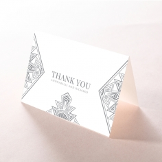 Ace of Spades thank you stationery card