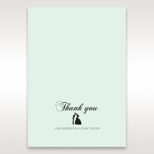 Arch of Love wedding stationery thank you card item