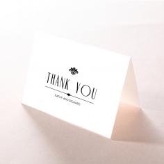 Art Deco Romance wedding stationery thank you card design