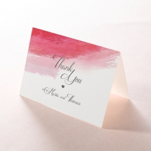 At Sunset wedding stationery thank you card item