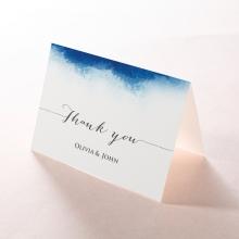 At Twilight thank you wedding stationery card
