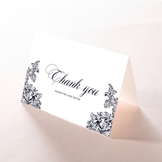 Baroque Romance thank you stationery card item