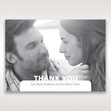 Beautiful Romance wedding stationery thank you card