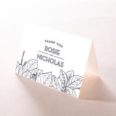 Botanical Canopy thank you stationery card design