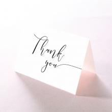 Breathtaking Baroque Foil Laser Cut wedding stationery thank you card item