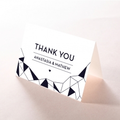 Digital Love thank you wedding stationery card design