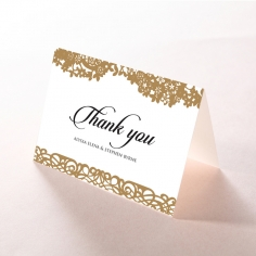 Enchanting Forest thank you wedding card design
