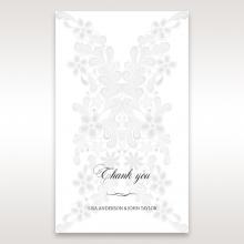 Everlasting Love wedding stationery thank you card
