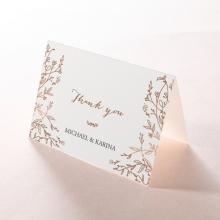 Fleur thank you stationery card item