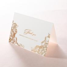 Flourishing Garden Frame wedding thank you stationery card