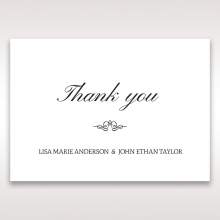 Fragrance thank you wedding stationery card item