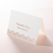 Gatsby Glamour thank you stationery card design