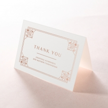 Gatsby Glamour wedding thank you card design