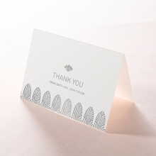 Gilded Decadence thank you stationery card