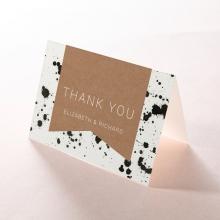 Graffiti thank you stationery card