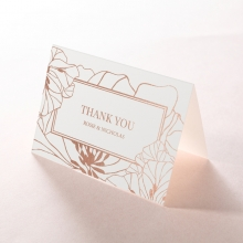 Grand Flora thank you invitation card