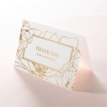 Grand Flora thank you card design