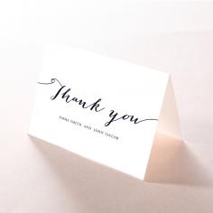 Infinity wedding thank you stationery card item