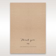 Laser Cut Doily Delight wedding thank you card design