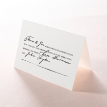 Love Letter thank you wedding stationery card design