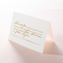 Love Letter thank you wedding stationery card