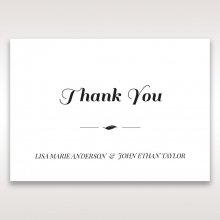 Lovely Lillies thank you wedding card design