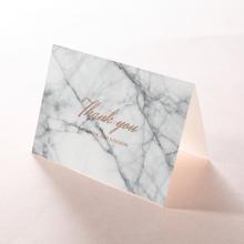 Marble Minimalist wedding thank you card