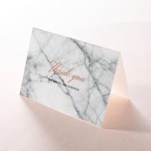 Marble Minimalist wedding thank you card design