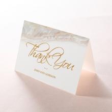 Moonstone thank you invitation card