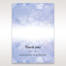 Mythical Garden Laser Cut Pocket thank you invitation card