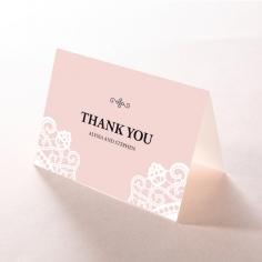 Oriental Charm thank you wedding stationery card design