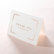 Ornate Luxury thank you stationery card design