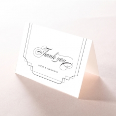 Paper Regal Enchantment thank you card