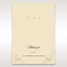 Precious Pearl Pocket thank you wedding stationery card design