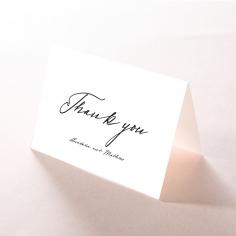 Pure Charm wedding stationery thank you card item