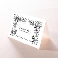 Regal Frame wedding thank you stationery card item