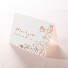 Rose Garden thank you stationery card