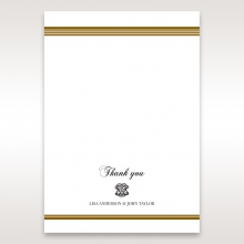 Royal Elegance thank you wedding stationery card item